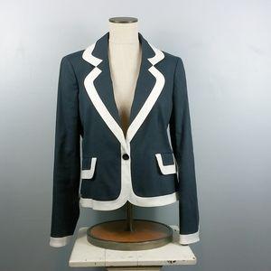 Ellen Tracy blazer, navy and white size 12